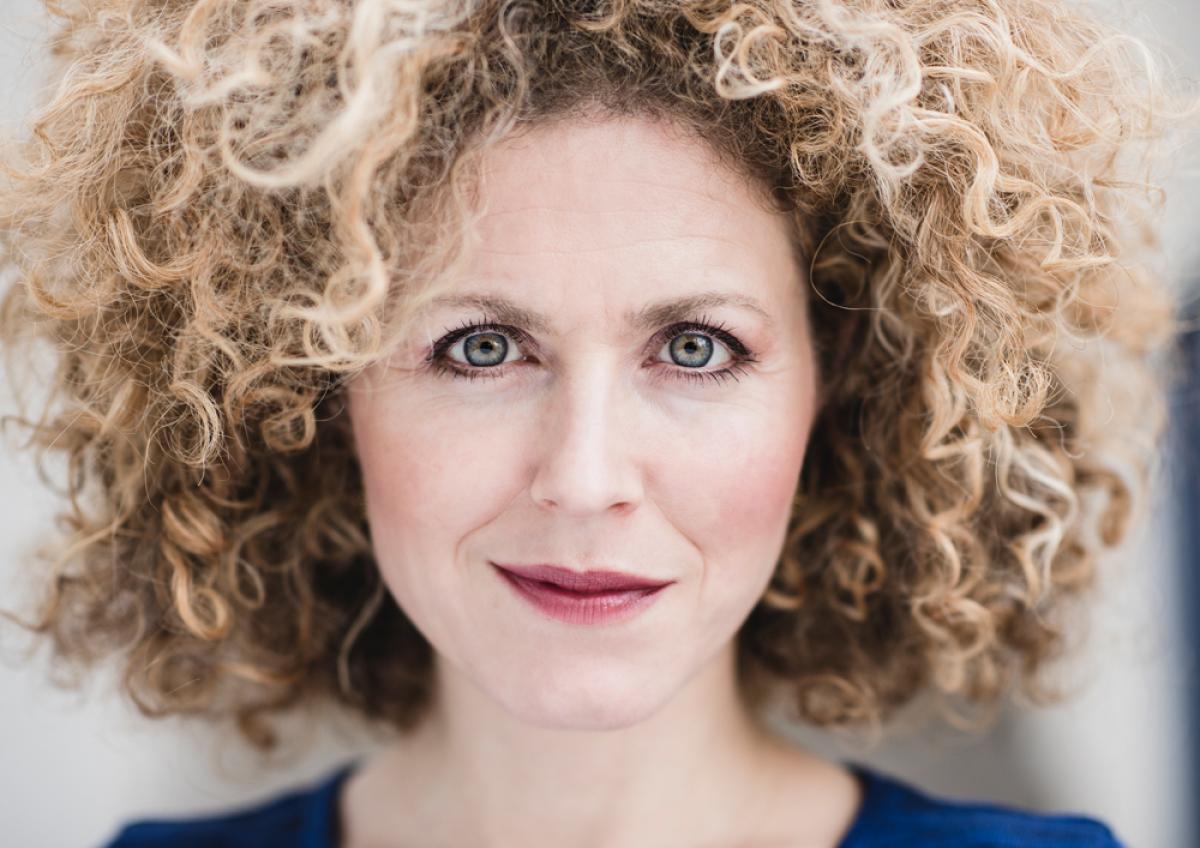 Portret Emmelie Zipson door Just Justa fotografie
