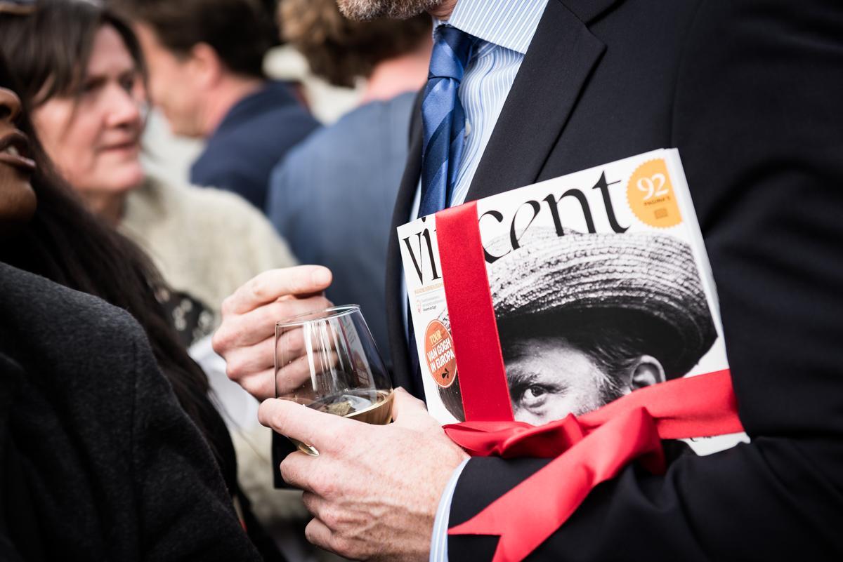 Lancering Vincent magazine door Just Justa