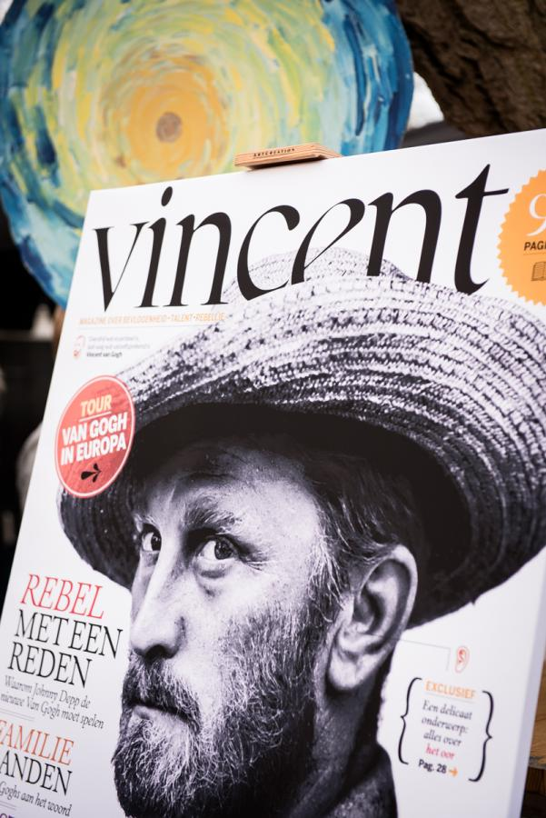 Lancering Vincent magazine door Just Justa
